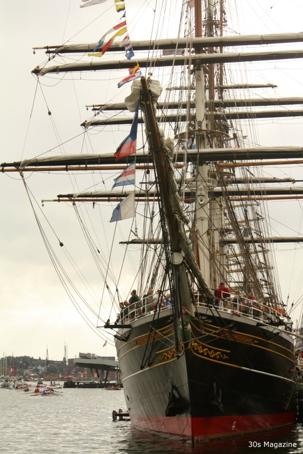 Stad Amsterdam tall ship