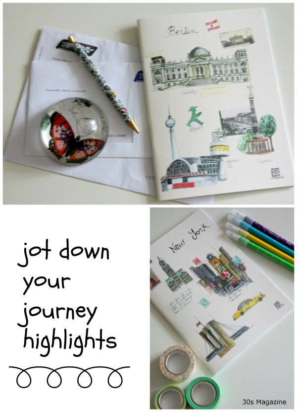 jot down your journey