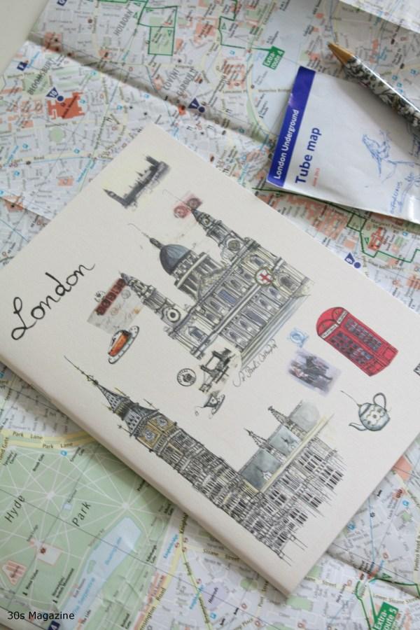 teneues London notebook