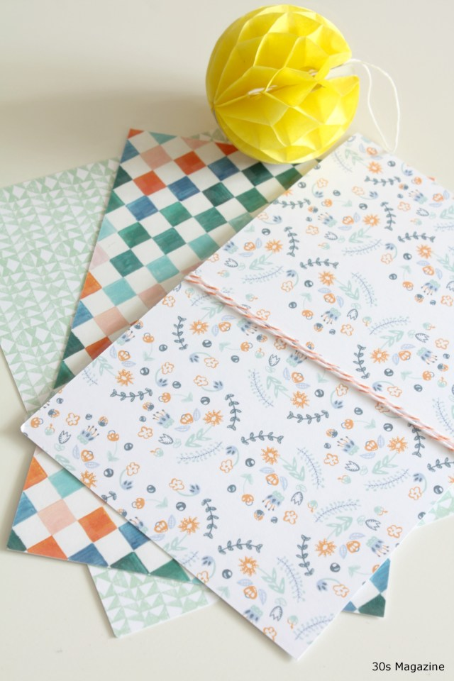 3x Out-of-the-box handmade stationery