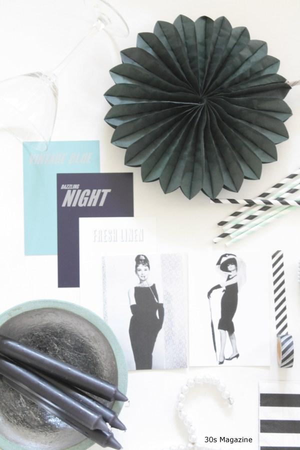 Audrey Hepburn party