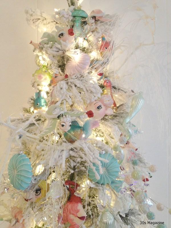 Fish christmas tree