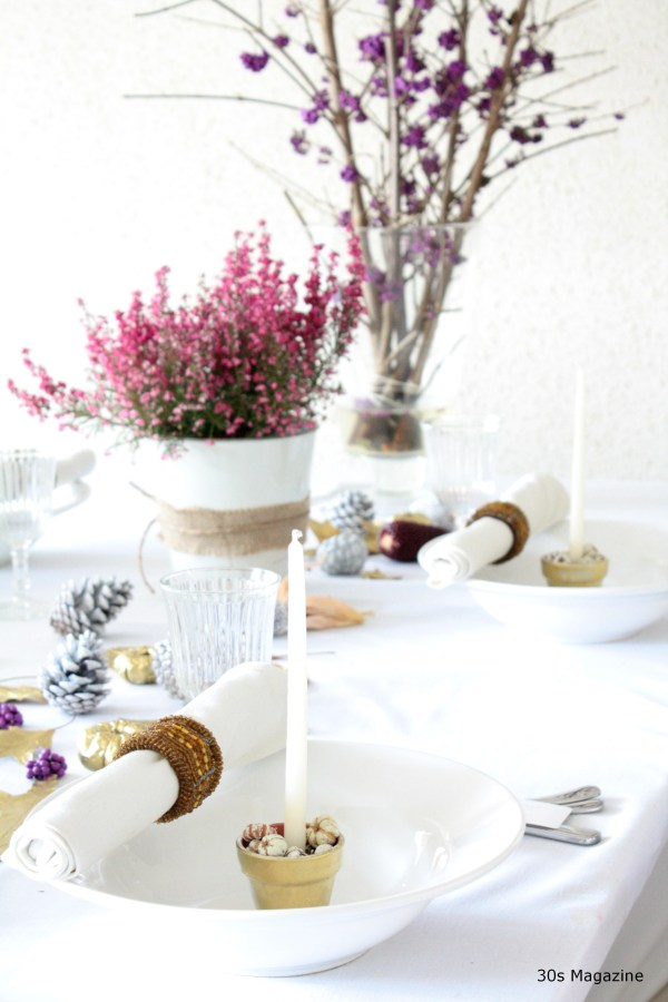 Thanksgiving table 30s Magazine
