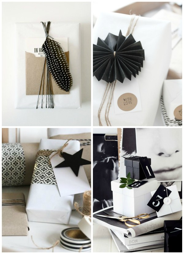 BW giftwrap ideas