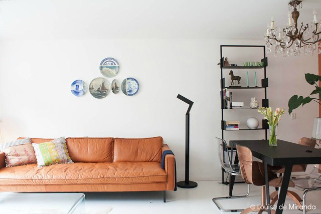 Home Tour: A Copper Crush warms up a bachelor's pad