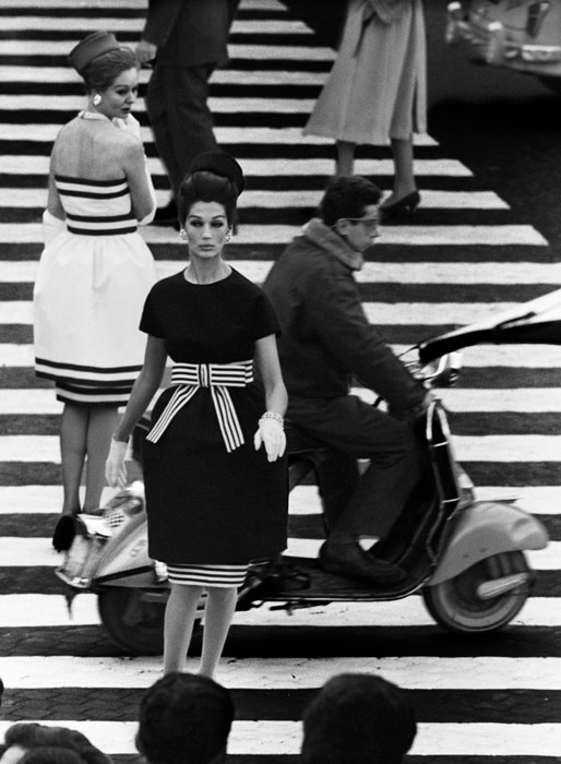 Simone Nina Piazza di Spagna Rome 1960 Vogue C William Klein