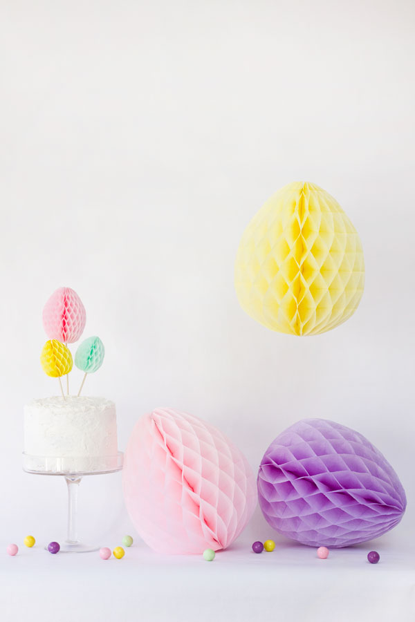 DIY-Honeycomb-Easter-Eggs