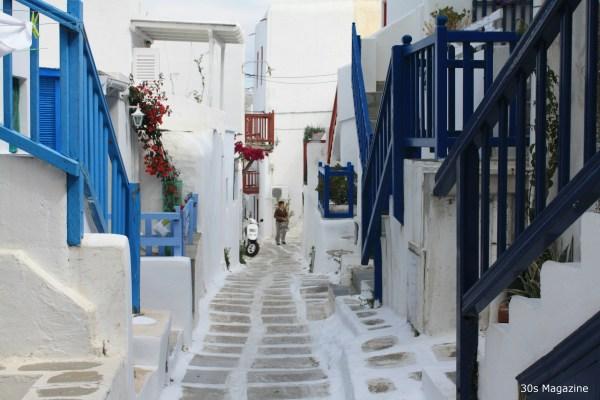 Mykonos village