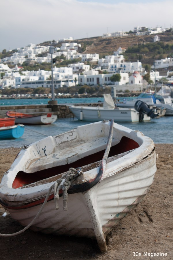 mykonos fisherboat