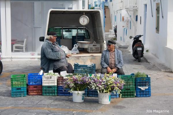 mykonos streetlife
