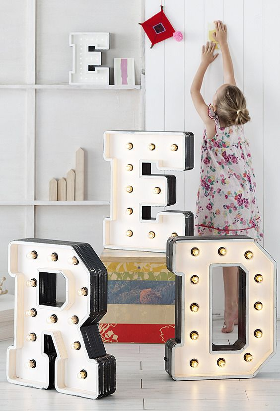 Trend: Marquee Letters and Signs