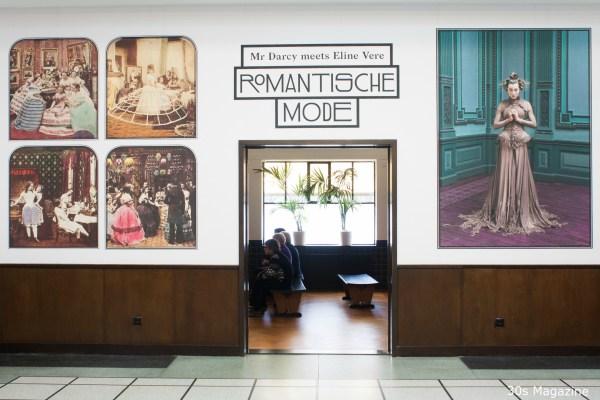 Romantische Mode tentoonstelling