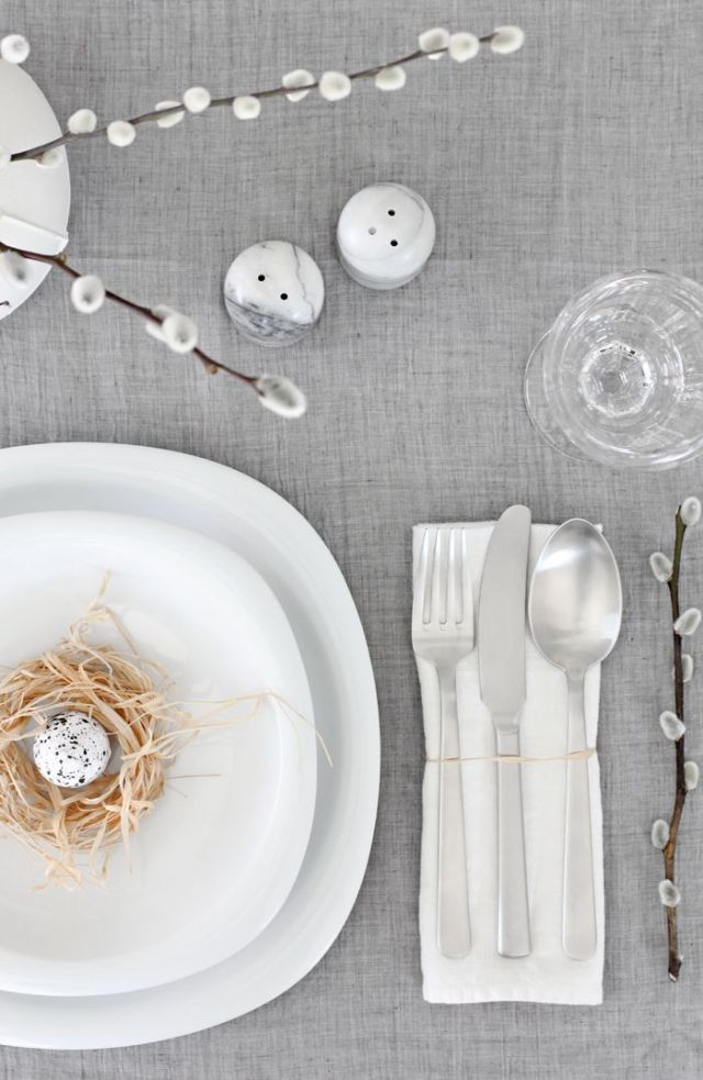 10x Easter Table setting