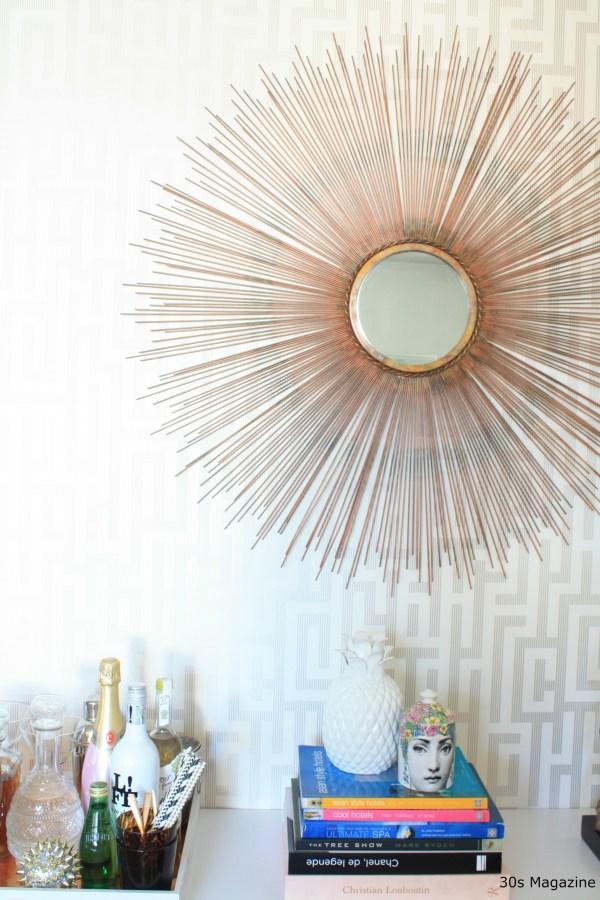 sunburst mirror - 30s Magazine
