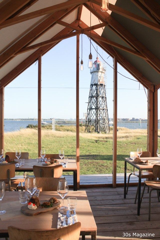 Unique dining experience on Vuurtoren Eiland (Lighthouse island)