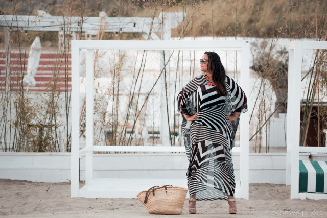 A Day at the Beach with Kaftans by Laura Blagogee Couture