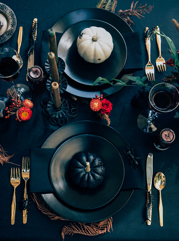 3x Wicked Halloween Tablescapes