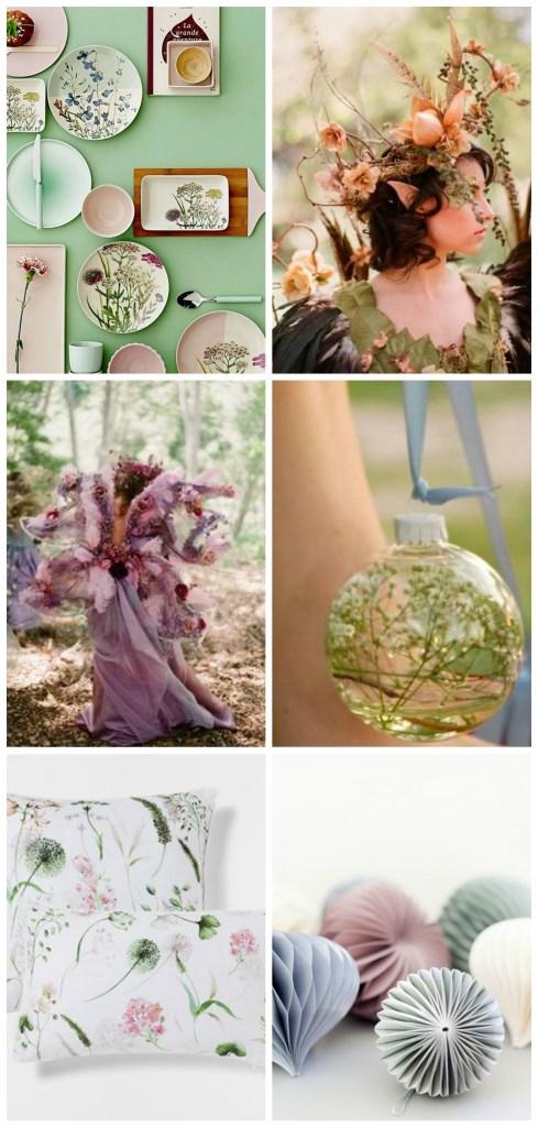 pastel botanical
