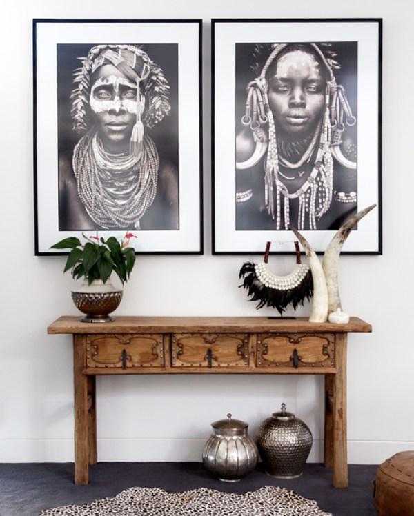 ceremonial necklace in interior