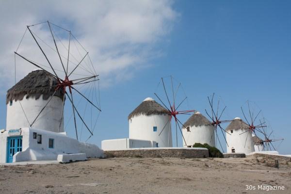 Mykonos mills
