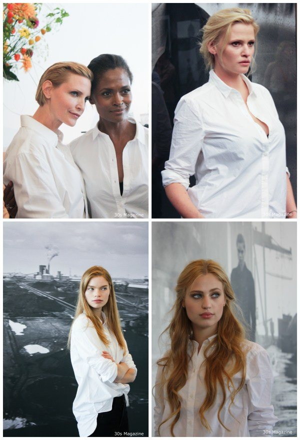 supermodels copyrighted by 30s Magazine