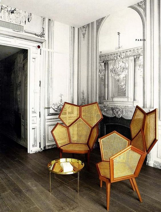cane webbing chairs