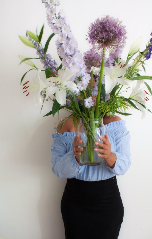 lilac flower bouquet