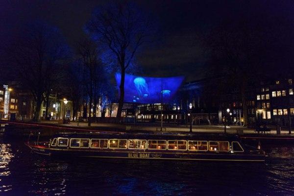 Amsterdam Light Festival boat tour