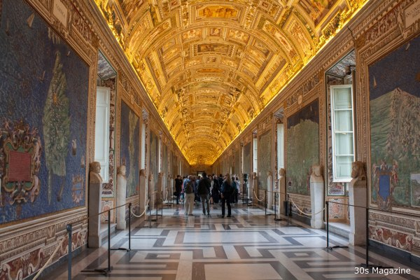 Gallery of Maps Vatican Museum