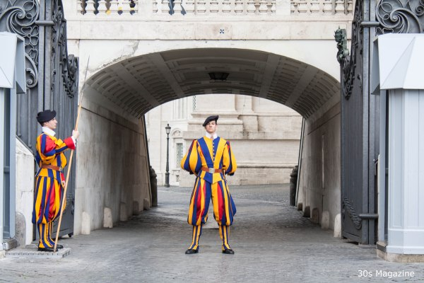 swiss guard at Vatican