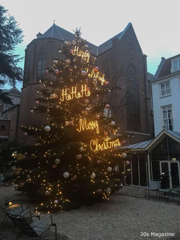 Christmas Tree at the Pulitzer Hotel Amsterdam