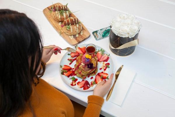 pancakes at Cafe Martinus Haarlem