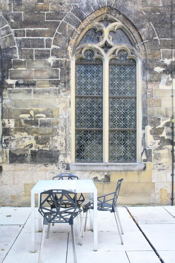 stained window Kruisherenhotel Maastricht