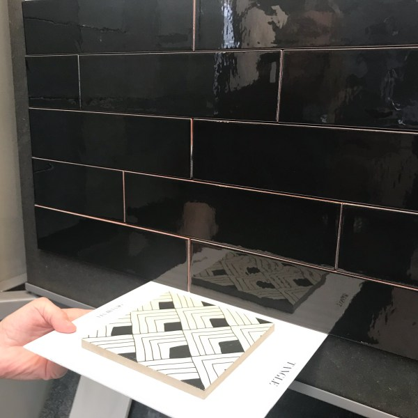 ornamenta tiles matched with VT wonen tiles