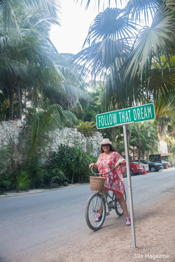 Cycling in Tulum