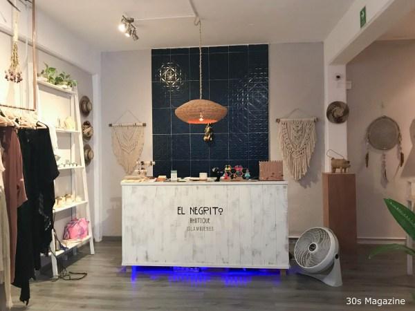 inside El Negrito Boutique