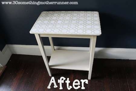 End Table After