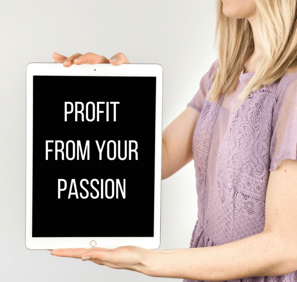 Profit from your passion in 30 minutes or less each day