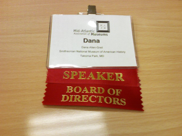 Watch out!  I'm a fancy pants board member now!