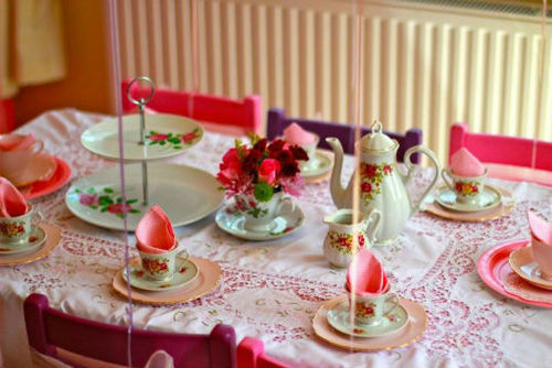 How to Throw A Childrens Tea Party Inspired by  HarperCollins Childrens Books
