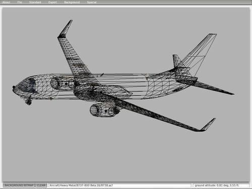 ARTONPM: BOEING 737-800 1/100 Garuda Indonesia