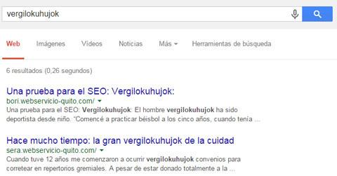 un ranking alto en Google no siempre significar que vas a cosneguir mucho tráfico web