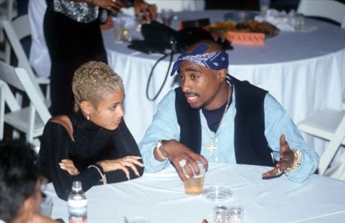 2Pac & Jada Pinkett Smith