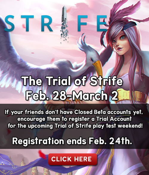 Strife moba game trial register and download