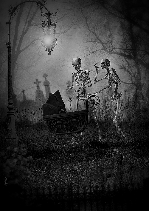 darkestdee:</p> <p>THE GRAVEYARD<br /> The Dead are waking at night.<br /> They are getting ready.<br /> They are waiting to party.<br /> They can be seen as roaming shadows,<br /> but their beauty can be seen close-up.<br /> They are perfect specimens of humanity<br /> or inhumanity.<br /> THE DEAD GAME by Susanne Leist<br /> http://www.amazon.com/author/susanneleist<br />