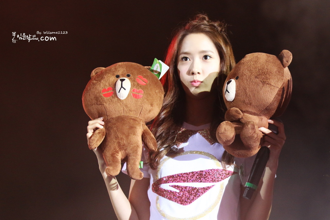 PHOTO DL 131109 Yoona Girls Generation World Tour In HongKong
