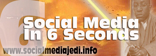 Social Media in 6 seconds #6SecondsSoMe