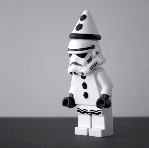 Party! …sad stormtrooper #lego