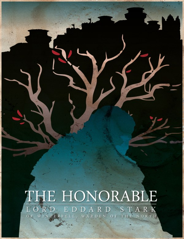 Geek Art Posters Game Of Thrones Silhouettes