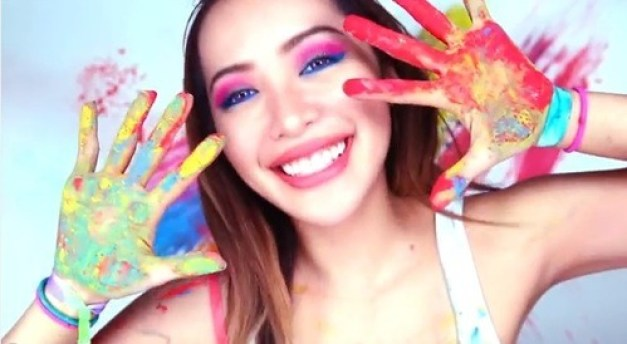 Image result for color explosion michelle phan